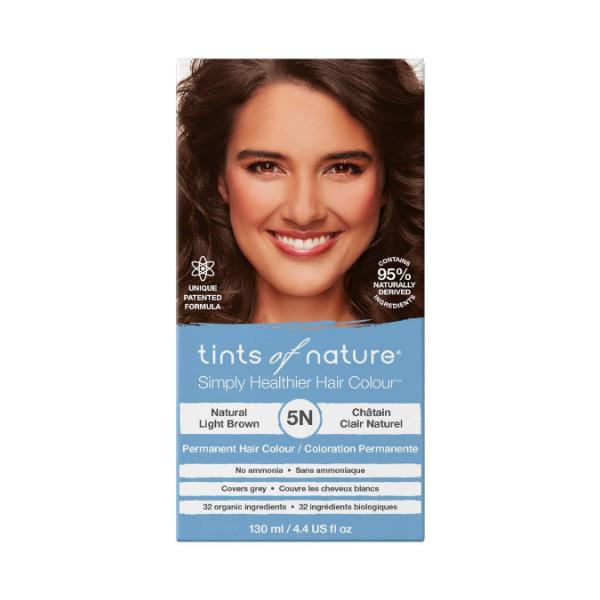 5N Natural Light Brown Permanent Hair Dye - 130ml