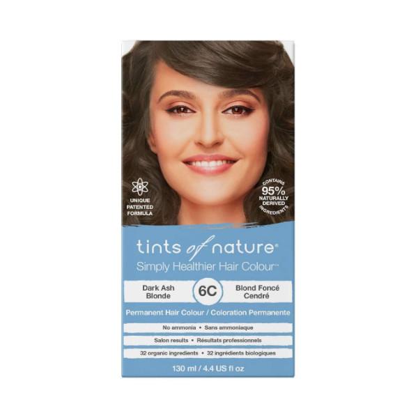 6C Dark Ash Blonde Permanent Hair Dye - 130ml
