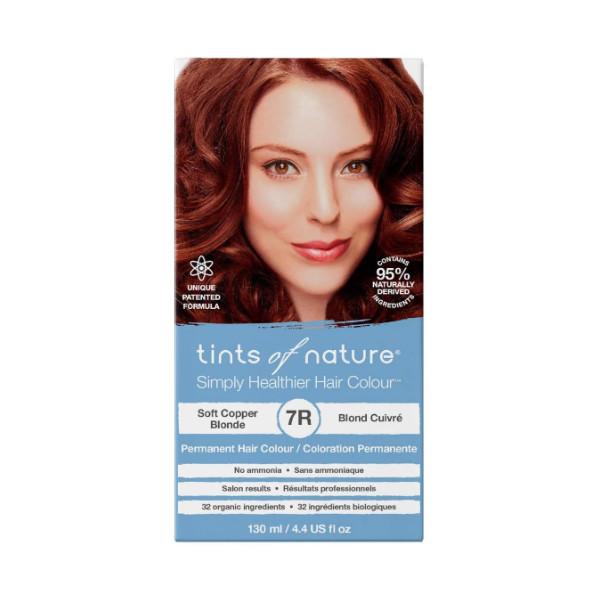 7R Soft Copper Blonde Permanent Hair Dye - 130ml
