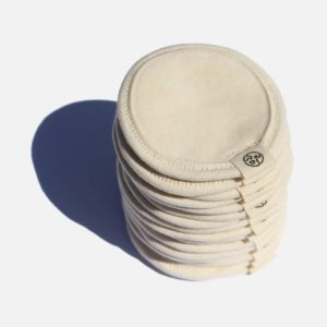 Cotton Makeup Remover Pads with Wash Bag