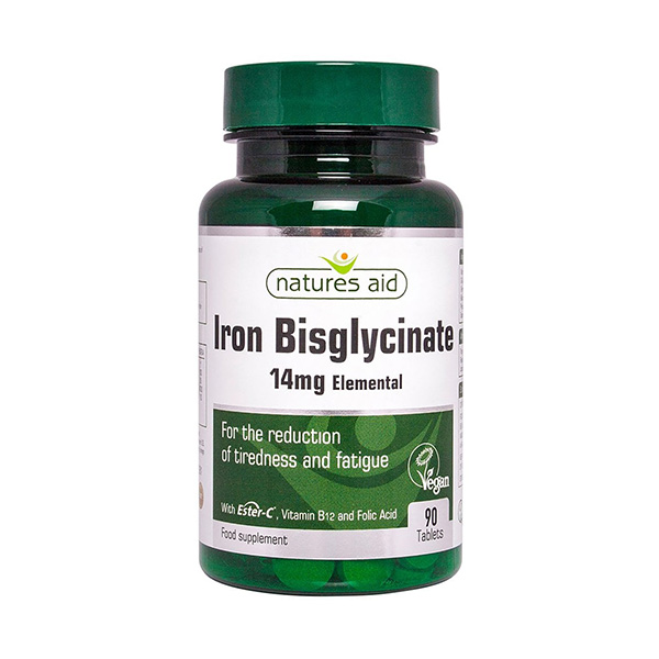 Iron Bisglycinate 90 Tablets