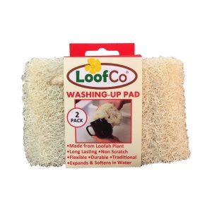 Loofah Washing Up Pad - 2 Pack