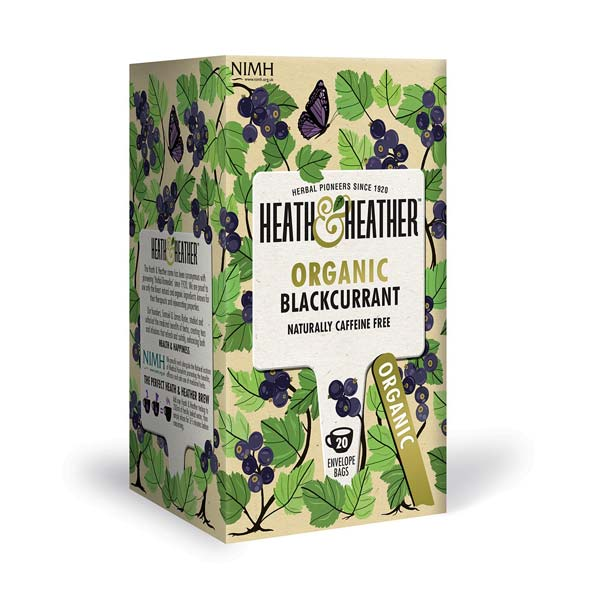 Organic Blackcurrant Tea 20 Bags