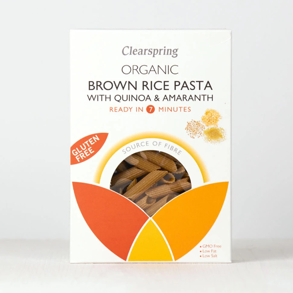 Organic Brown Rice Pasta with Quinoa - Gluten Free