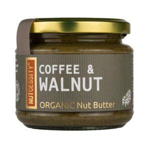 Organic Coffee & Walnut Butter - 180g
