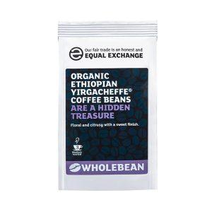 Organic Ethiopian Yirgacheffe Coffee Beans - 227g