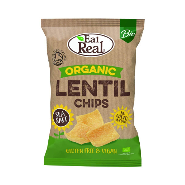 Organic Lentil Chips - 100g