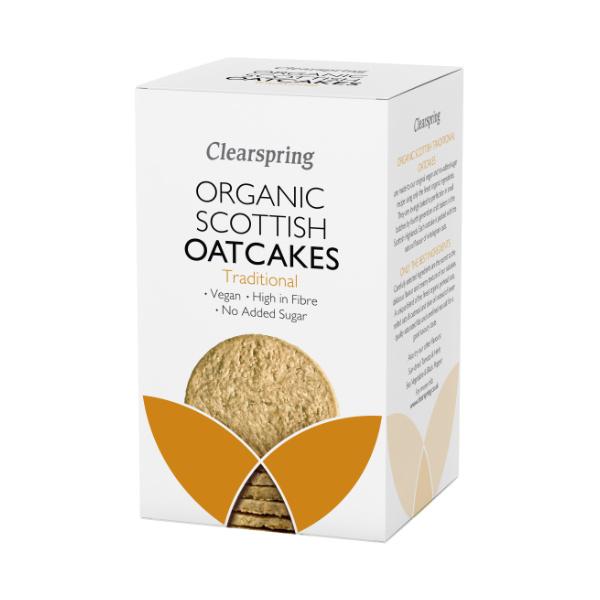 Organic Oatcakes - Traditional