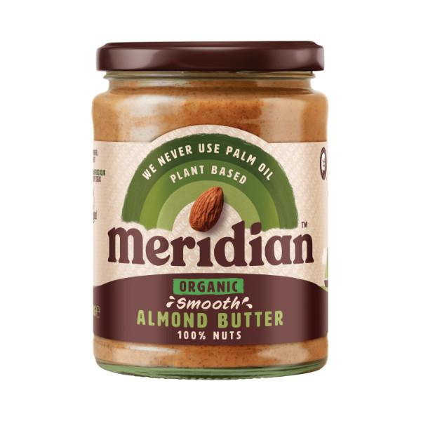 Organic Smooth Almond Butter - 470g