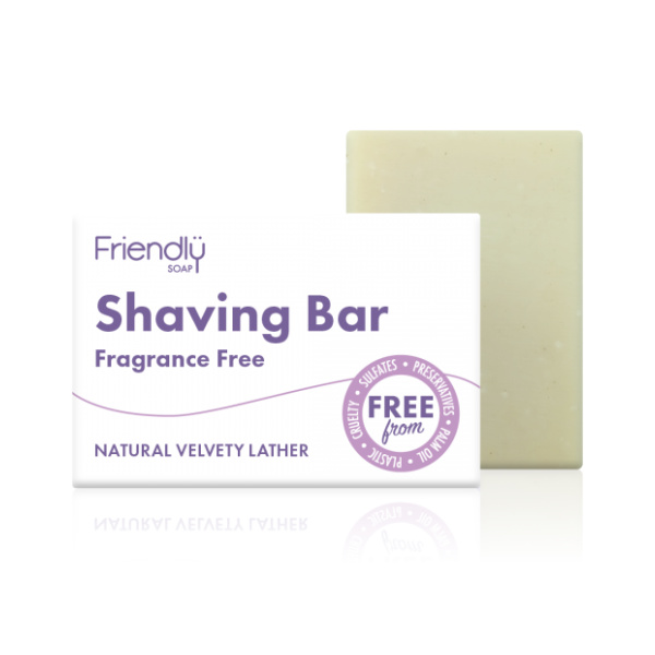Shaving Soap Bar - Fragrance Free