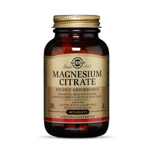 Magnesium Citrate 60 Tablets