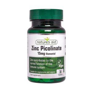 Zinc Picolinate 30 Tablets
