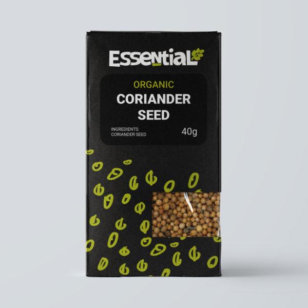 Organic Coriander Seeds - 40g