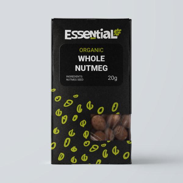 Organic Whole Nutmeg - 20g